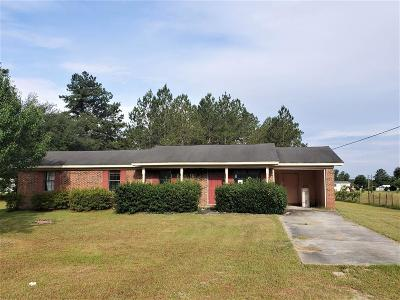 Berrien County, Brooks County, Cook County, Lanier County, Lowndes County Single Family Home For Sale: 6138 Baywood Drive
