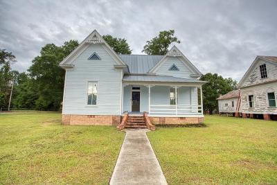 Berrien County, Brooks County, Cook County, Lanier County, Lowndes County Single Family Home For Sale: 607 S Court Street