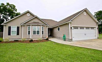 Berrien County, Brooks County, Cook County, Lanier County, Lowndes County Single Family Home For Sale: 314 Smith Dairy Rd.