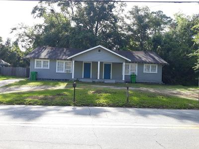 Berrien County, Brooks County, Cook County, Lanier County, Lowndes County Single Family Home For Sale: 705/703 N Troup Street