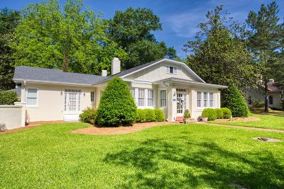 Berrien County, Brooks County, Cook County, Lanier County, Lowndes County Single Family Home For Sale: 1802 N Oak Street