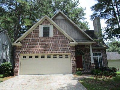Valdosta Single Family Home For Sale: 4470 Plantation Crest Rd