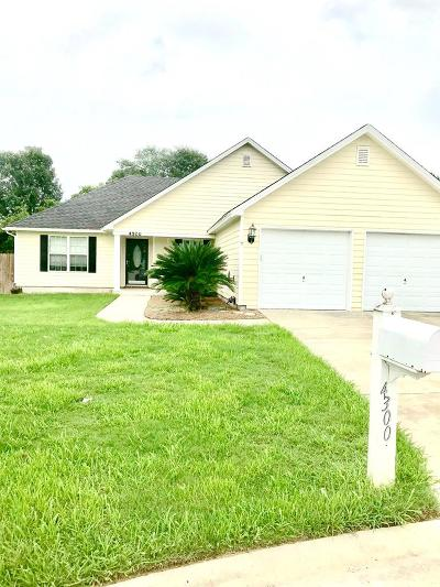 Valdosta Single Family Home For Sale: 4300 Wisteria Lane