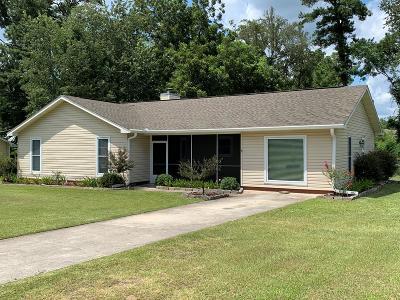 Valdosta Single Family Home For Sale: 4112 Pebble Creek Drive