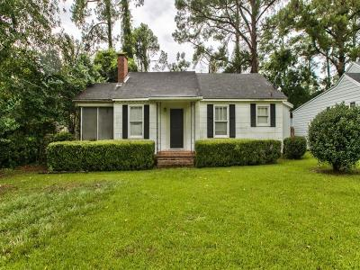 Valdosta Single Family Home For Sale: 1706 Iola