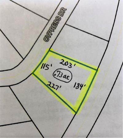 Berrien County, Lanier County, Lowndes County Residential Lots & Land For Sale: 5149 Cypress Dr.