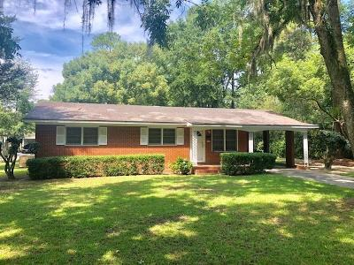 Valdosta Single Family Home For Sale: 1804 N Lee Street