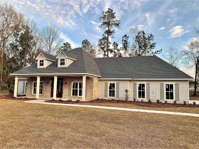 Valdosta Single Family Home For Sale: 3889 Bear Hollow