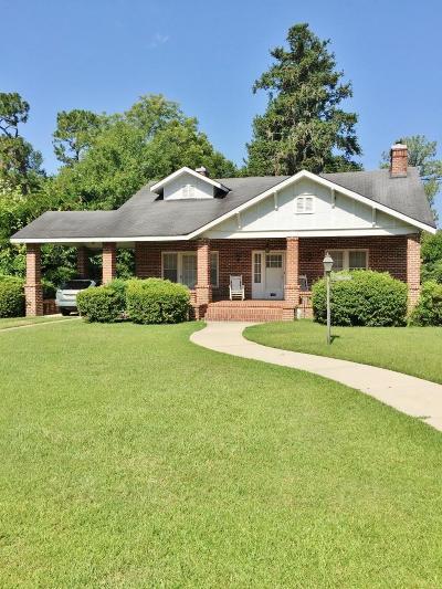 Valdosta Single Family Home For Sale: 1720 Williams Street