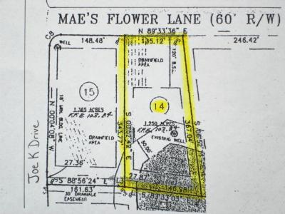 Residential Lots & Land For Sale: 4456 Mae's Flower Lane