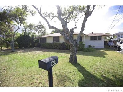 Kailua HI Single Family Home Sold: $1,250,000