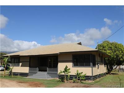 Waianae Single Family Home For Sale: 87-154 Liliana Street #I