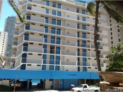 Honolulu Condo/Townhouse For Sale: 441 Lewers Street #704