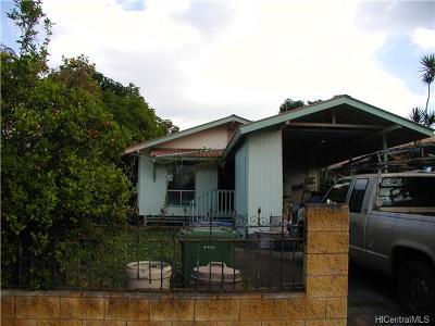 Waialua Single Family Home For Sale: 66-905 Paahihi Street