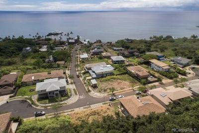 Honolulu County Residential Lots & Land For Sale: 61-1028 Tutu Place