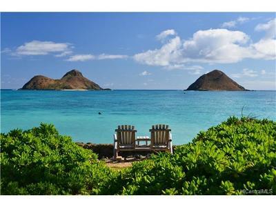 Kailua Single Family Home For Sale: 1456 Mokulua Drive