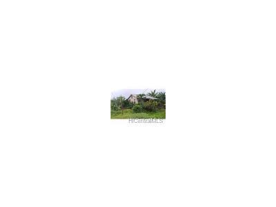 Wahiawa Single Family Home For Sale: 668 Kipuka Drive #7