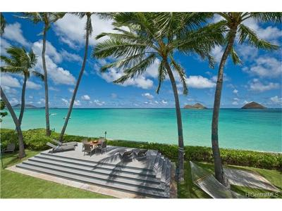 Kailua Single Family Home For Sale: 1408a Mokulua Drive