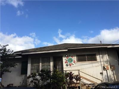 Wahiawa Single Family Home For Sale: 604 Lalawai Street