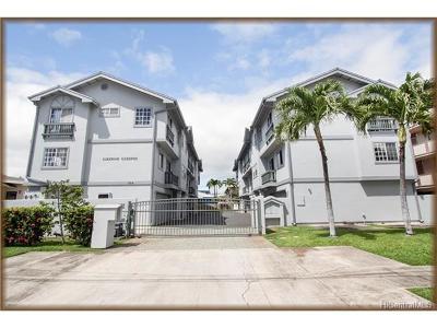 Honolulu Condo/Townhouse In Escrow Showing: 834 Lukepane Avenue #B