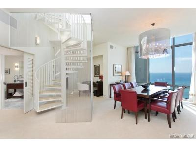 Hawaii County, Honolulu County Condo/Townhouse For Sale: 223 Saratoga Road #PH-C 380
