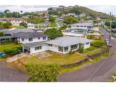 Kaneohe Single Family Home In Escrow Showing: 45-028 Lilipuna Place
