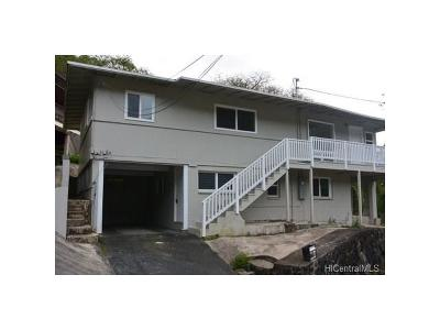 Honolulu Single Family Home For Sale: 3031 Nihi Street #J10