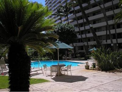Honolulu Condo/Townhouse In Escrow Showing: 425 Ena Road #PH4C