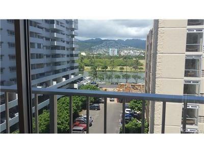Hawaii County, Honolulu County Condo/Townhouse In Escrow Showing: 2421 Tusitala Street #701