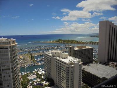 Hawaii County, Honolulu County Condo/Townhouse For Sale: 1778 Ala Moana Boulevard #3211