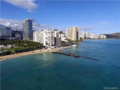 Hawaii County, Honolulu County Condo/Townhouse For Sale: 2161 Kalia Road #502