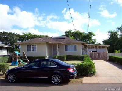 Ewa Beach Single Family Home For Sale: 91-1739 Pepper Row