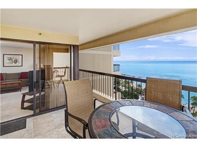 Hawaii County, Honolulu County Condo/Townhouse For Sale: 2470 Kalakaua Avenue #1404