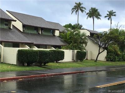 Honolulu Condo/Townhouse For Sale: 553 Pepeekeo Street #5 (553-5