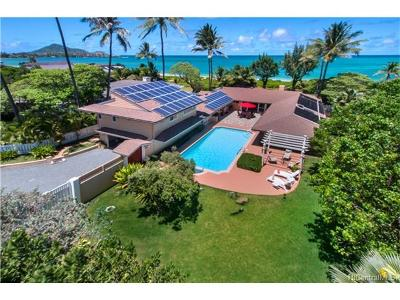 Kailua Single Family Home For Sale: 23 Kai Nani Place