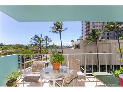 Hawaii County, Honolulu County Condo/Townhouse For Sale: 204 Kapahulu Avenue #402
