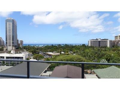 Honolulu Condo/Townhouse For Sale: 383 Kalaimoku Street #908
