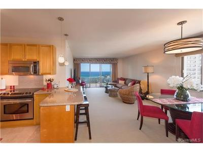 Honolulu HI Condo/Townhouse In Escrow Showing: $1,095,000