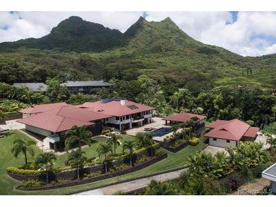 Kailua Single Family Home In Escrow Showing: 42-139 Old Kalanianaole Road