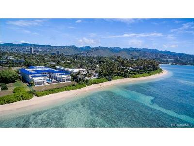 Hawaii County, Honolulu County Single Family Home In Escrow Showing: 4663 Kahala Avenue