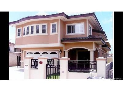Single Family Home In Escrow Showing: 3271 Pahoa Avenue #3271