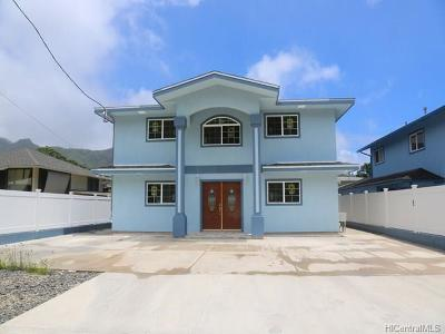 Honolulu Single Family Home For Sale: 2721/2721a Puunui Avenue