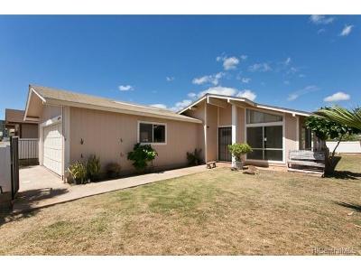 Waianae Single Family Home For Sale: 86-180 Moelua Street
