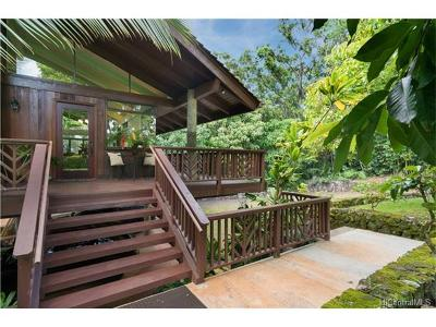Single Family Home Sold: 59-594 Pupukea Road