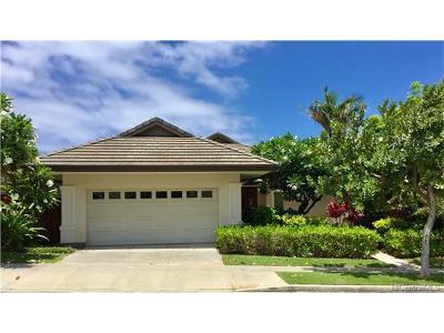 Honolulu County Single Family Home In Escrow Showing: 1057 Koko Kai Place