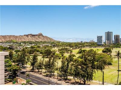Honolulu Condo/Townhouse In Escrow Showing: 2916 Date Street #10G