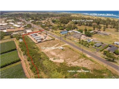 Kahuku Single Family Home For Sale: 56-426a Kamehameha Highway