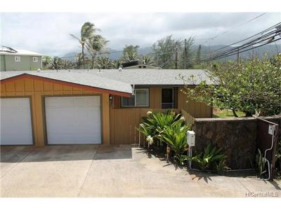 Laie Single Family Home For Sale: 55-323 Kamehameha Highway #3