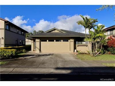 Mililani Single Family Home For Sale: 95-1036 Haulelau Street