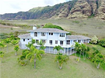 Waianae HI Single Family Home For Sale: $2,495,000